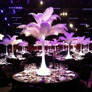 Wedding Products-Table Centre Ostrich Feather