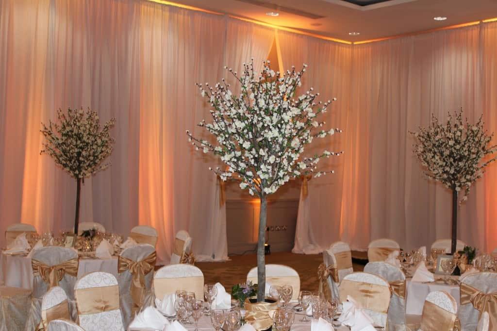 Cherry Blossom Centerpieces - WOW - Weddings Dundalk