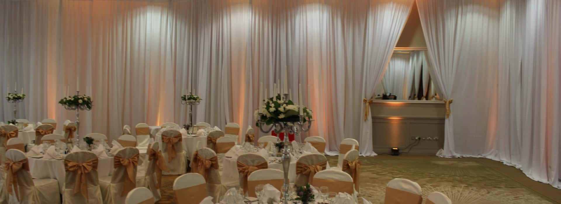 Wedding Custom Drape