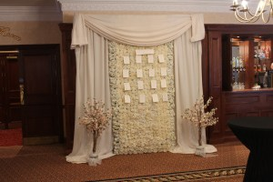 Wedding Products-Flower Wall As A Table Plan