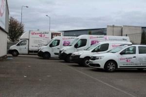 WOW Weddings Fleet of Vehicles