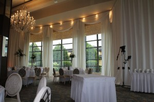 Wow-Wedding Products-Fairy Lights In Windows With Draping