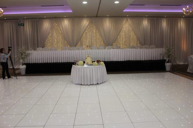 Twinkle-Dance-Floor-Lough-Rea-Hotel-Galway-Ireland-Wedding-Draping-Lough-Rea-Hotel-Galway-Ireland
