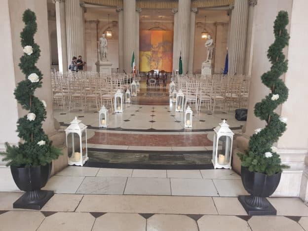 Lanterns-&-Trees-City-Hall-Dublin-Chiavari Chairs in Dublin City Hall, Dublin, County Dublin