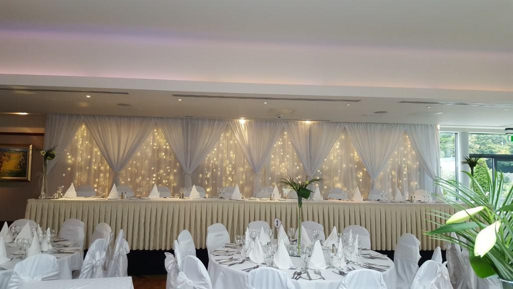 Fairylight Backdrop Custom Built Curtain Style
