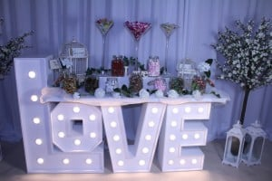 Wedding Products-Giant Letter Candy Table