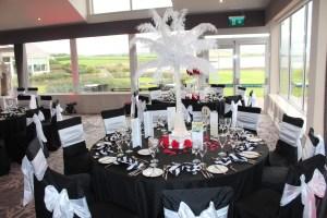 Wedding Products-Black & White Napkin
