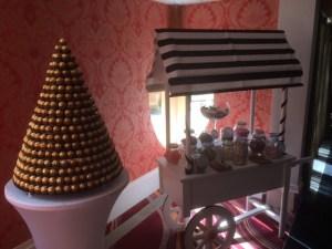 Wedding Products-Candy Cart & Ferrero Rocher Pyramid