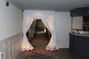 Wedding Products-Fairy Light Door Drape With Swag