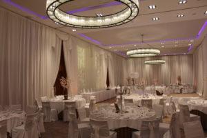 Floor-To-Ceiling-Wedding-Draping-Farnham-Estate-Cavan-Ireland-Wedding Draping – Farnham Estate – Cavan – Ireland