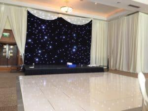 Twinkle-Dance-Floor-Trim-Castle-Hotel-Trim-Co-Meath-Ireland-Wedding-Draping-Trim-Castle-Hotel-Co- Meath-Ireland