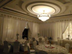 Wedding Draping, Powerscourt Hotel, Enniskerry, County Wicklow-Wedding Draping in Powerscourt Hotel, Enniskerry, County Wicklow