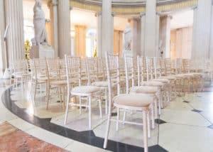 Chiavari-Chairs-Natural-Limewash-City-Hall-Dublin-Chiavari Chairs in Dublin City Hall, Dublin, County Dublin