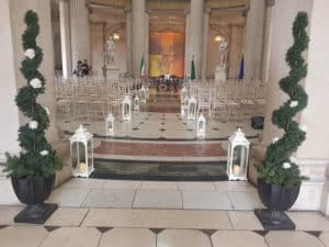 Lanterns-&-Trees-City-Hall-Dublin-Chiavari Chairs in Dublin City Hall, Dublin, County Dublin