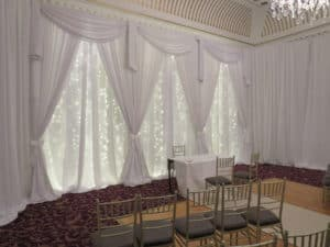 Fairy Light Backdrop, Bridge House Hotel, Tullamore, Co. Offaly-Bridge House Hotel