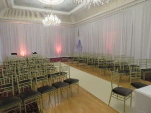 Wedding Drapes, Bridge House Hotel, Tullamore, Co. Offaly-Bridge House Hotel