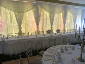 Custom Built Fairylight Backdrop, Raheen Woods Hotel, Athenry, Co. Galway