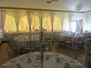Custom Draping, Raheen Woods Hotel, Athenry, Co. Galway