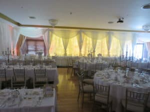 Drapes For Weddings, Raheen Woods Hotel, Athenry, Co. Galway
