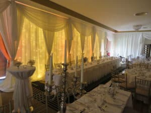 Fairy Light Backdrop, Raheen Woods Hotel, Athenry, Co. Galway