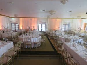 Wedding Draping Raheen Woods Hotel, Athenry, Co. Galway