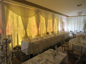 Wedding Fairylight Backdrop, Raheen Woods Hotel, Athenry, Co. Galway