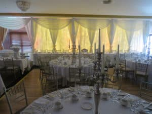 Wedding Pipe And Drape Raheen Woods Hotel, Athenry, Co. Galway