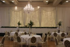Custom Built Fairy Light Backdrop, Mullingar Park Hotel, Mullingar,