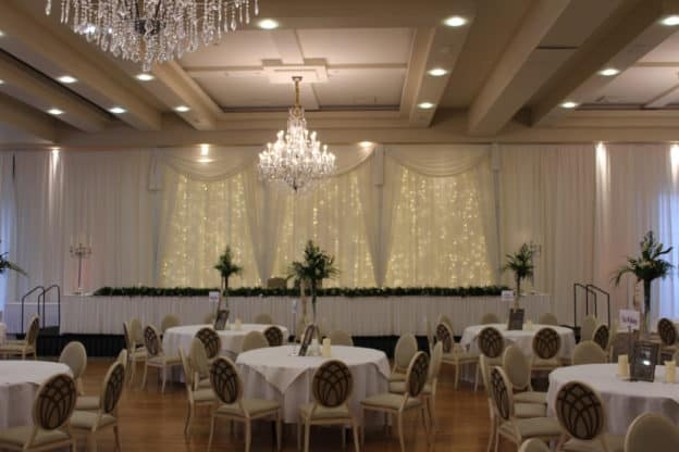 Fairy Light Backdrop, Mullingar Park Hotel