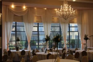 Wedding Draping, With Fairy Lighs, Mullingar Park Hotel, Mullingar