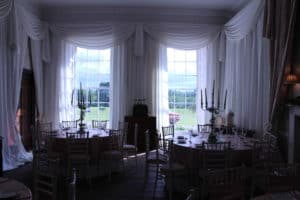 Fairy Lights In Windows, Bellurgan Park, Bellurgan, Dundalk, Co. Louth