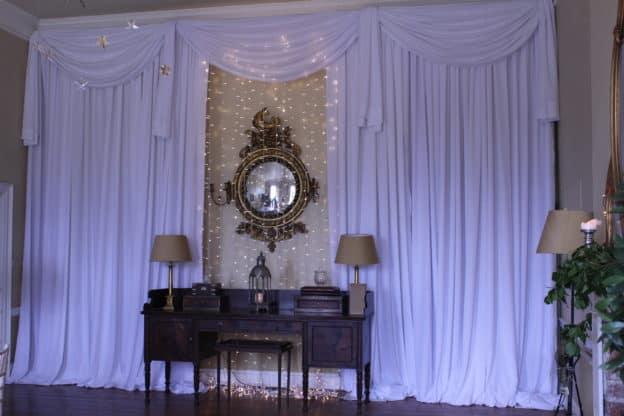 Fairy Lights On Mirror, Bellurgan Park, Bellurgan, Dundalk, Co. Louth